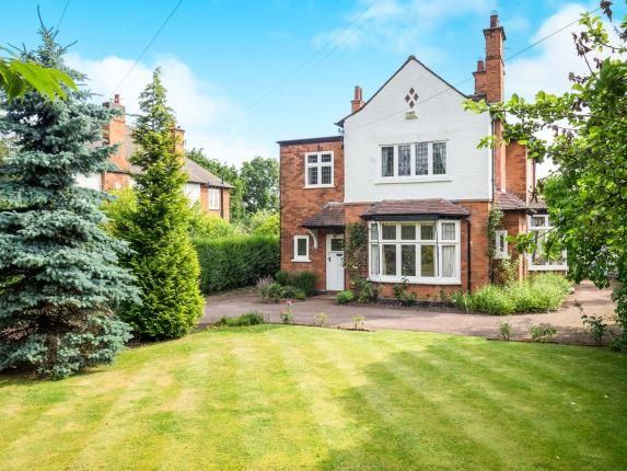 Thumbnail Detached house for sale in Melton Road, West Bridgford, Nottingham, Nottinghamshire