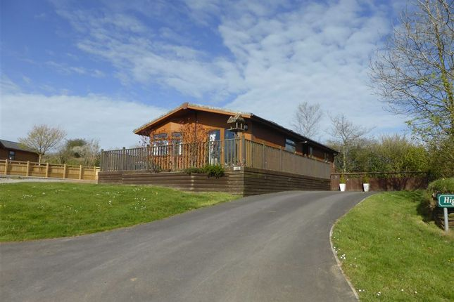 Thumbnail Mobile Park Home For Sale In Combe Martin Ilfracombe