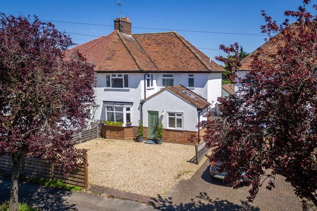 Thumbnail Semi-detached house for sale in Whitehurst Avenue, Hitchin