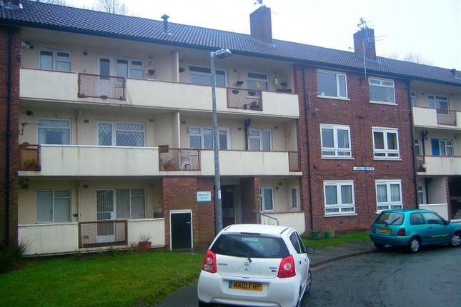 External of Woolston House, Moss Meadow Road, Salford M6