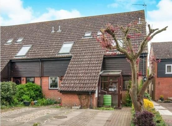 Thumbnail End terrace house to rent in Waveney Road, Diss