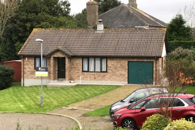 Thumbnail Detached bungalow for sale in Sango Court, Millbrook, Torpoint