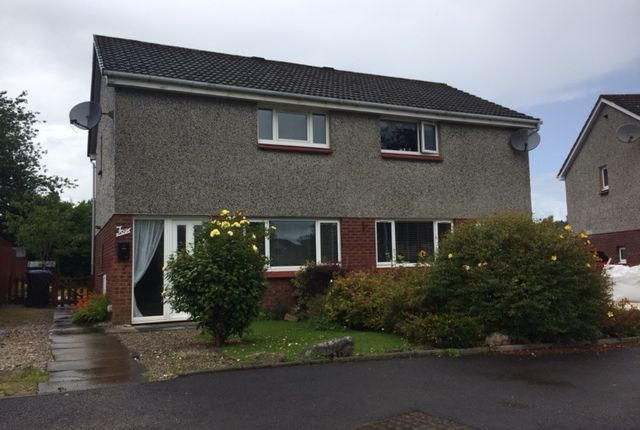 Thumbnail Semi-detached house to rent in St Aidan Crescent, Banchory, Aberdeenshire