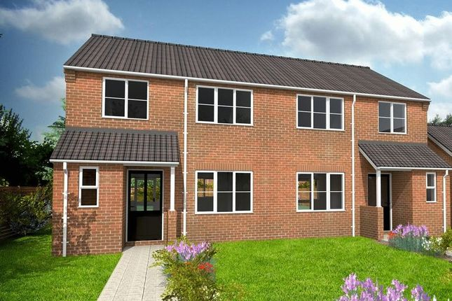 Thumbnail Semi-detached house for sale in Cumberland Close, Scampton, Lincoln