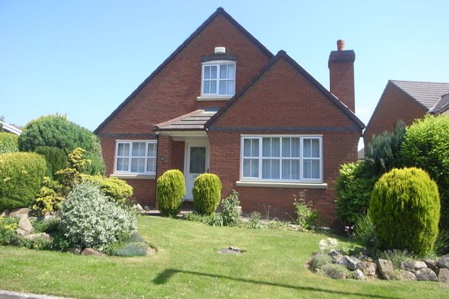 Thumbnail Detached house to rent in Lon Yr Ysgol, Caerwys, Mold