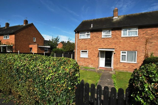 Thumbnail Semi-detached house for sale in Crescent Road, Hadley, Telford, Shropshire
