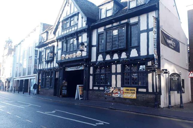 Thumbnail Pub/bar to let in St. Nicholas Street, Worcester