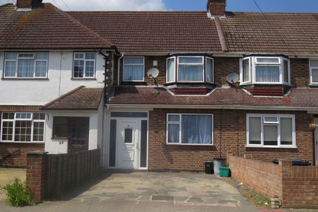 Thumbnail Terraced house to rent in Brookmead Way, Orpington