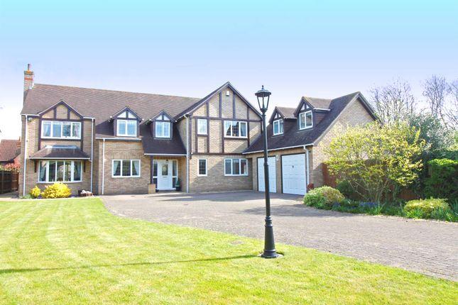 Thumbnail Detached house for sale in The Sanderlings, Peakirk, Peterborough