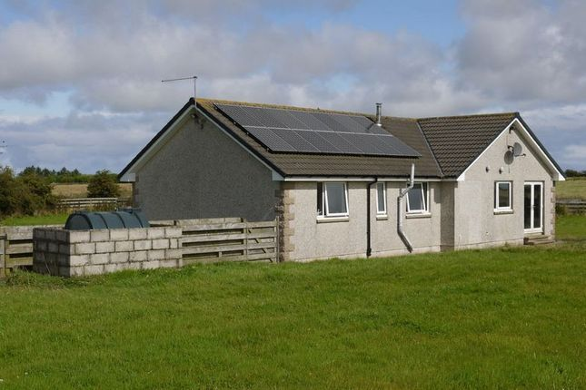 Thumbnail Detached bungalow for sale in Lonmay, Fraserburgh