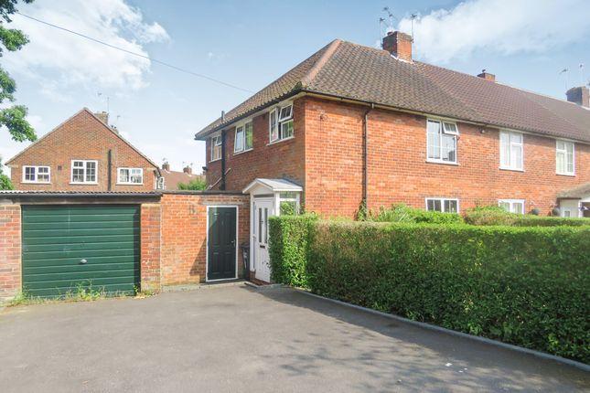 Thumbnail Semi-detached house for sale in Furzefield Road, Welwyn Garden City