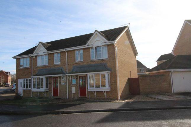 Thumbnail Semi-detached house to rent in Tydeman Road, Portishead, Bristol