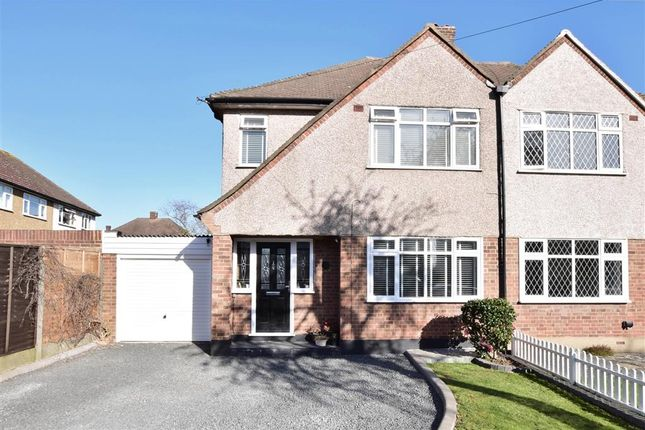 3 bed semi-detached house for sale in Chelmer Road, Upminster, Essex RM14