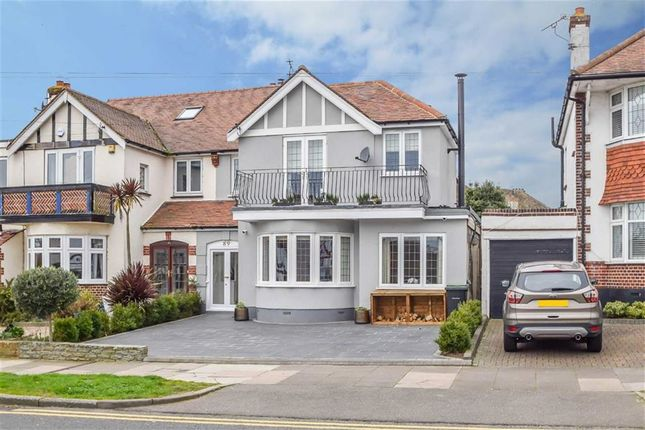Thumbnail Semi-detached house for sale in Thames Drive, Leigh-On-Sea, Essex