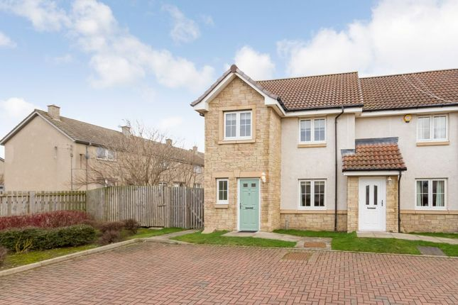 Thumbnail End terrace house for sale in 45 Wallace Avenue, Wallyford, Musselburgh