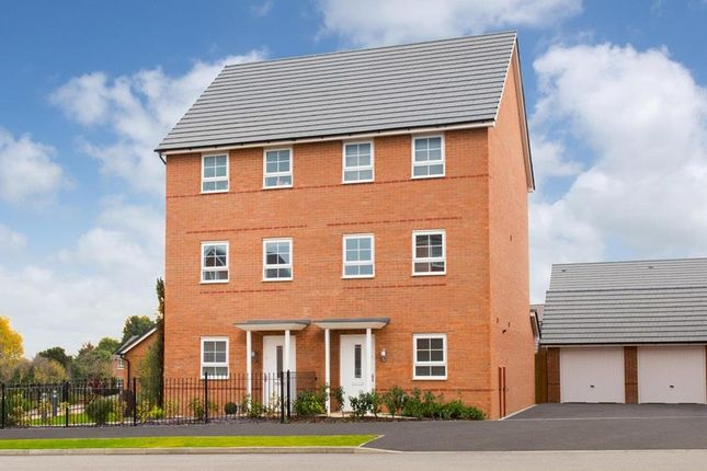 """Thumbnail Semi-detached house for sale in """"Broughton"""" at Somerset Avenue, Leicester"""
