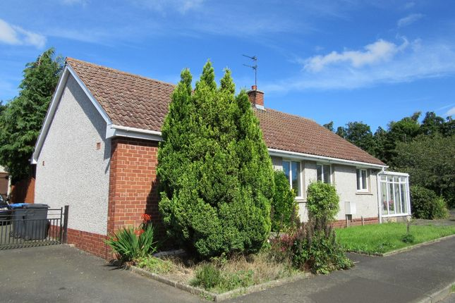 Thumbnail Detached bungalow for sale in Main Street, Leitholm, Coldstream