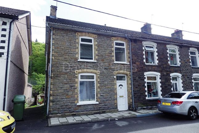 Thumbnail End terrace house to rent in Crown Street, Crumlin, Newport, Gwent.