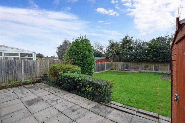 Rear Garden of Heath Road, Coxheath, Maidstone, Kent ME17