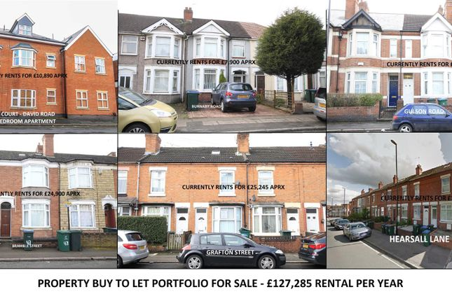 Thumbnail Property for sale in Greyfriars Road, Coventry