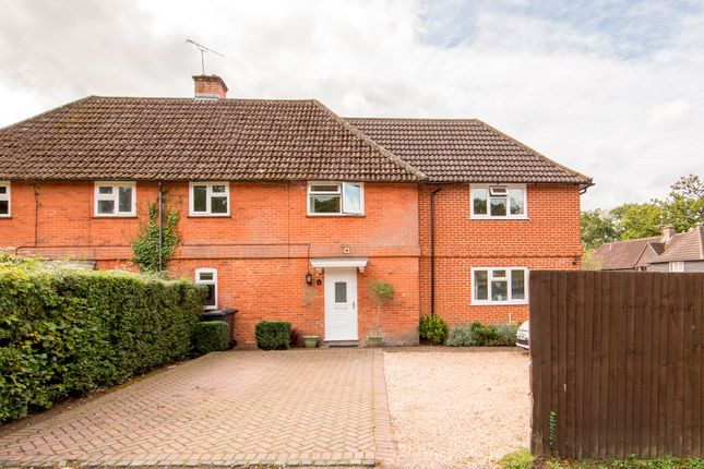 Thumbnail Semi-detached house for sale in Glebe Lane, Hartley Wintney, Hook