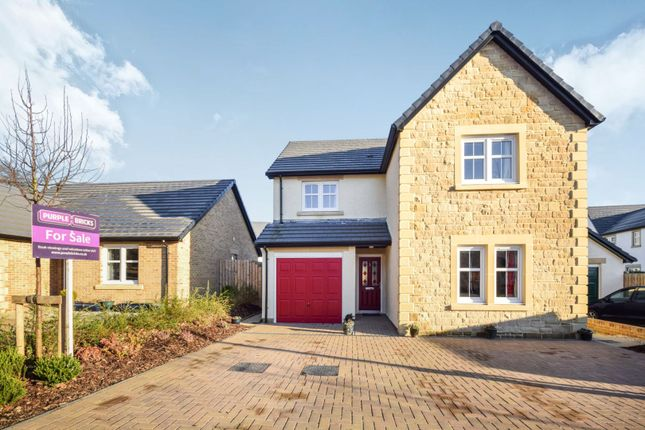 Thumbnail Detached house for sale in Bizzyberry Crescent, Biggar