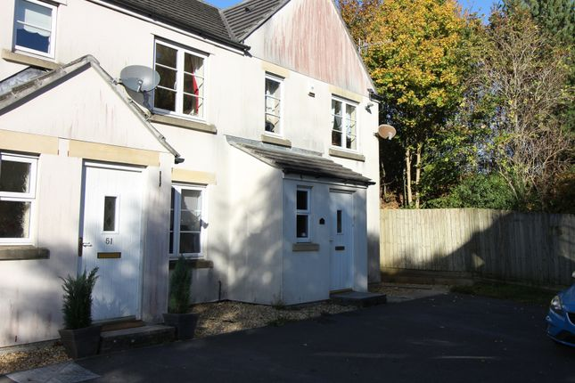 Thumbnail End terrace house to rent in Grassmere Way, Pillmere, Saltash