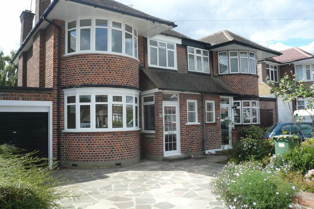 Thumbnail Semi-detached house to rent in Cannonbury Avenue, Pinner