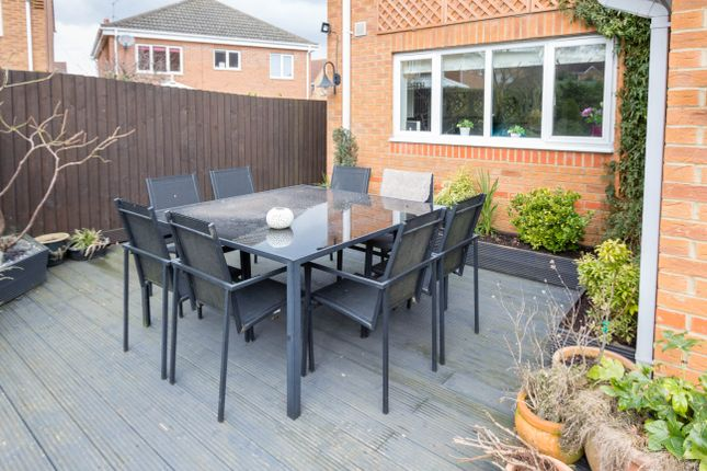 Decking Area of Charlbury Close, Wellingborough NN8