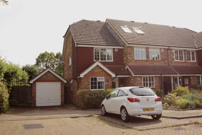 Thumbnail End terrace house to rent in Moorcroft Gardens, Kent
