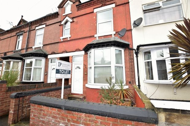 Thumbnail Terraced house to rent in Lord Haddon Road, Ilkeston, Derbyshire