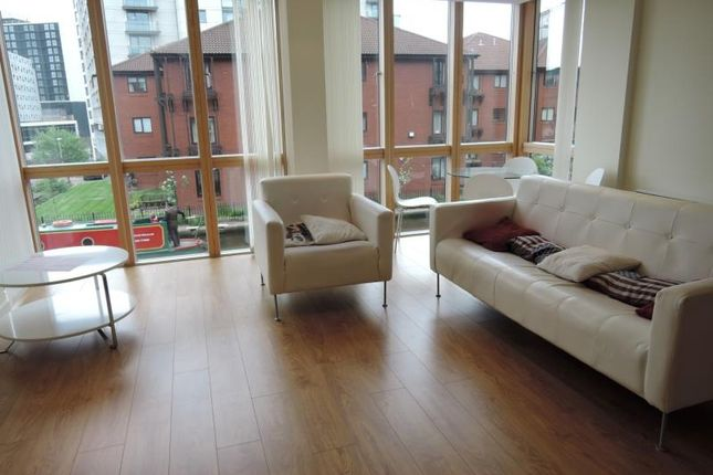 Thumbnail Flat to rent in Canal Wharf, 18 Waterfront Walk, Birmingham
