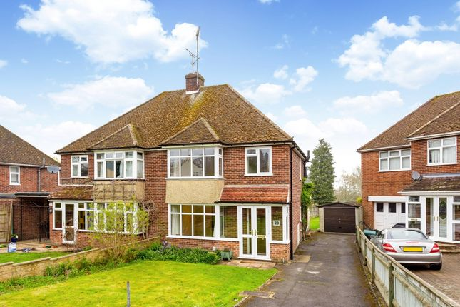 Thumbnail Semi-detached house to rent in Sidestrand Road, Newbury