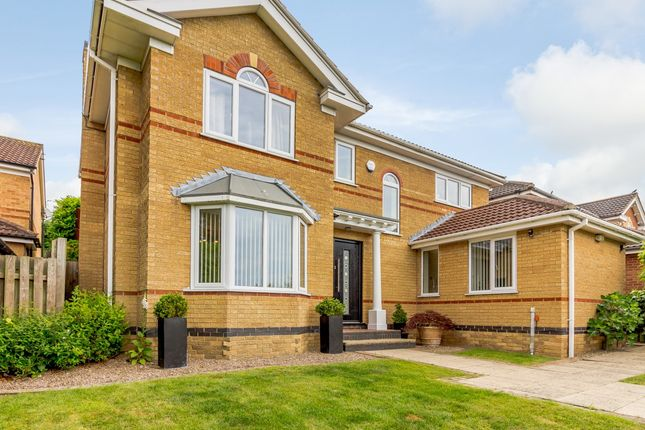 Thumbnail Detached house for sale in Fairburn Croft Crescent, Chesterfield, Derbyshire