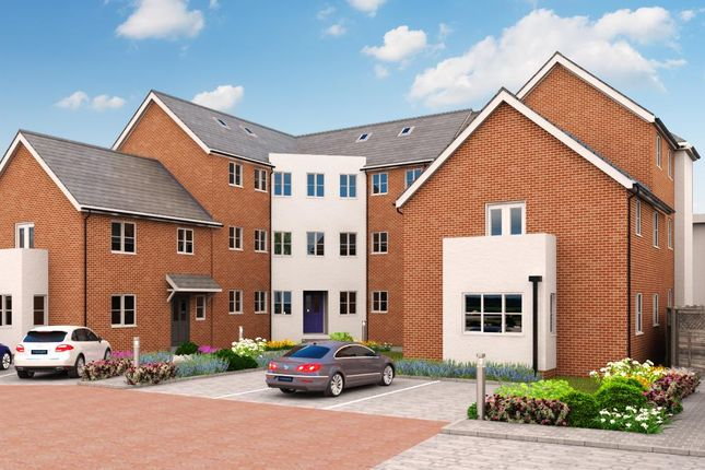 Thumbnail Block of flats for sale in Courtyard, Witham
