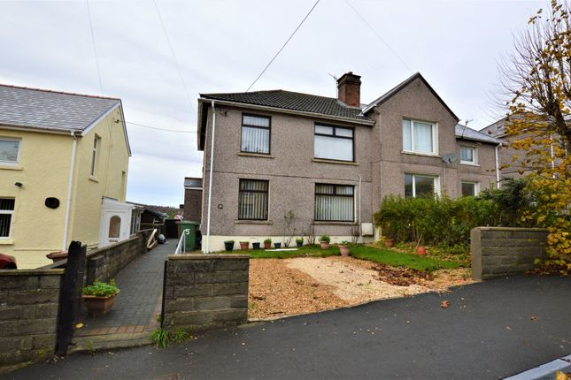 Thumbnail Semi-detached house to rent in Beech Drive, Hengoed