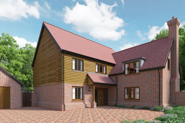 Thumbnail Detached house for sale in Trinity Hill, Medstead