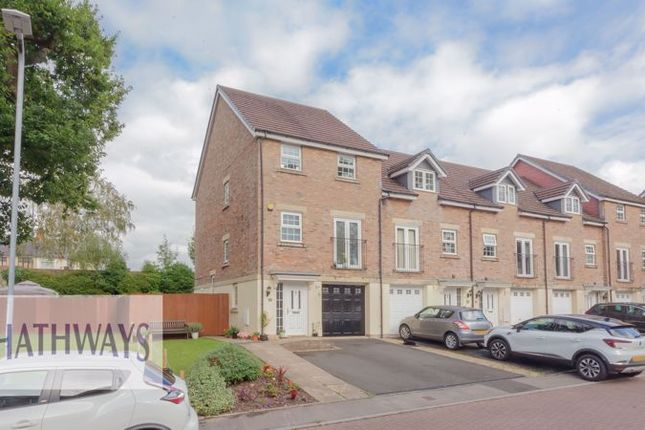 Thumbnail Town house for sale in Westfield Gardens, Newport