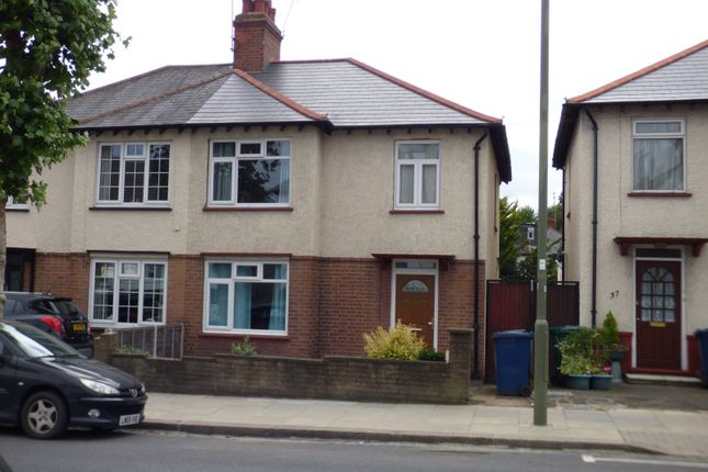 Thumbnail Semi-detached house for sale in Longmore Avenue, East Barnet
