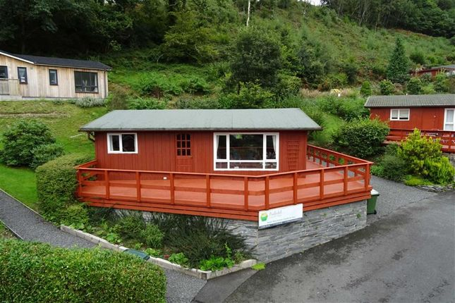 Thumbnail Detached bungalow for sale in 3, Aberdovey Lodge Park, Aberdovey, Gwynedd