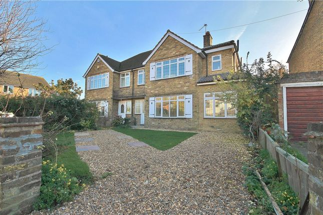 Thumbnail Semi-detached house for sale in Oaks Road, Stanwell Village, Middlesex