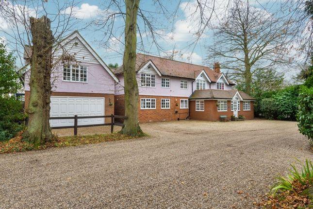 Thumbnail Detached house for sale in Sawbridgeworth Road, Little Hallingbury, Bishop's Stortford