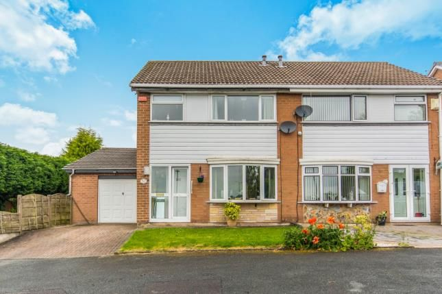 Thumbnail Semi-detached house for sale in Barnfield Road, Hyde, Greater Manchester, Hyde