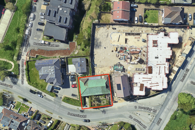 Thumbnail Land for sale in Leebot Wood Downsview Road, London