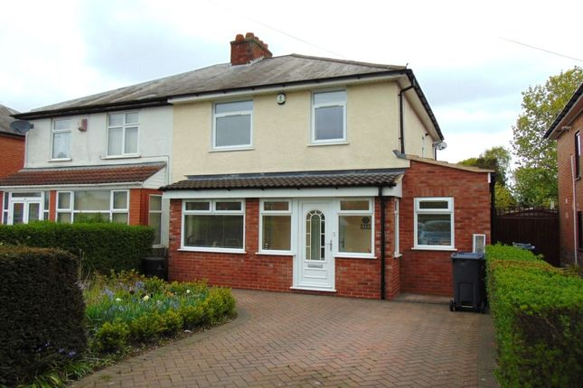 Thumbnail Semi-detached house for sale in Yardley Fields Road, Stechford, Birmingham