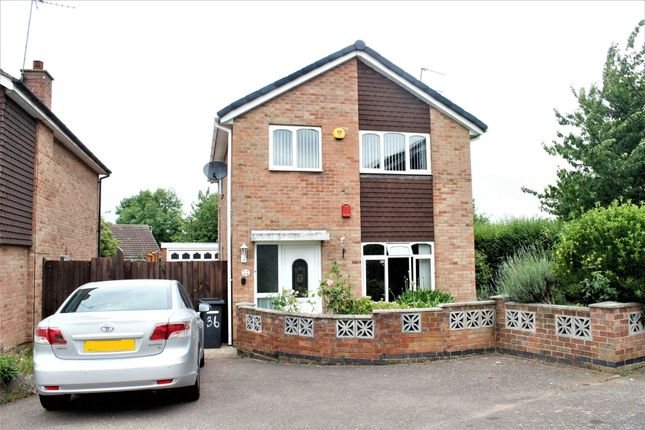 Thumbnail Detached house to rent in Butler Close, Leicester