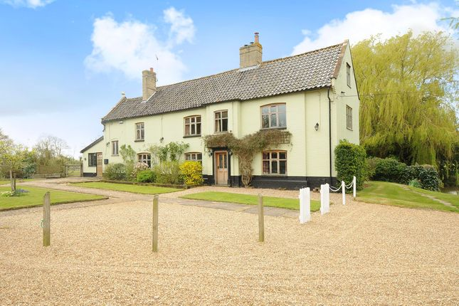 Thumbnail Equestrian property for sale in Suffolk, Spexhall, Near Halesworth