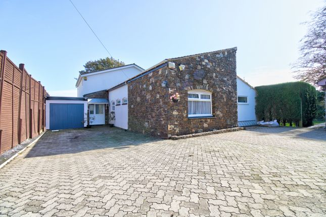 Thumbnail Detached bungalow for sale in Dartmouth Road, Stoke Fleming, Dartmouth
