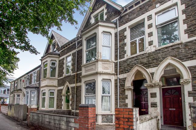 Thumbnail Terraced house for sale in Cathays Terrace, Cathays, Cardiff