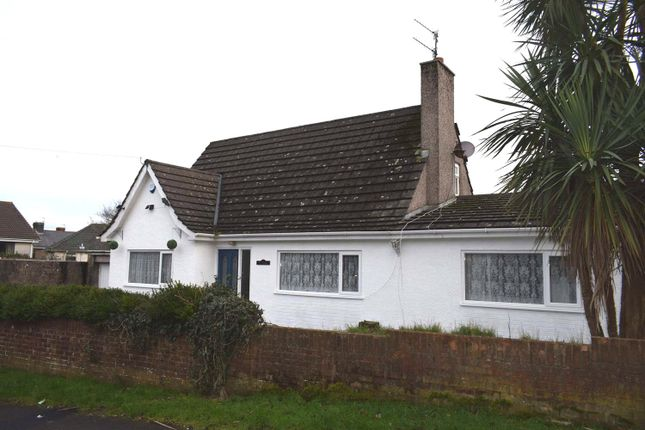 Thumbnail Detached bungalow for sale in Caroline Avenue, North Cornelly